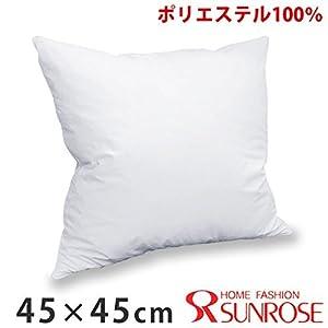 【日本製】ヌードクッション・ポリエステル(パンヤ風)・クッション中材(45cm×45cm用) 1個