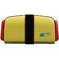 mifold(マイフォールド) ジュニアシート 携帯型 [日本正規品] タクシーイエロー 4歳~ BCMI00106