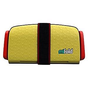 マイフォールド(mifold) ジュニアシート 携帯型 15~36kg (持ち運び簡単) チャイルドシート タクシーイエロー [日本正規品] BCMI00106