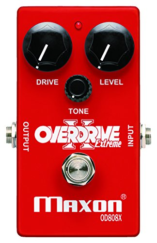 MAXON マクソン OD808X Overdrive Extreme コンパクトエフェクター  オーバードライブ