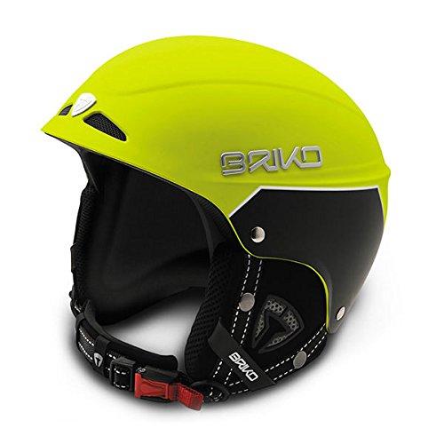 [해외] BRIKO(브리고)SNOWY 어른용 프리 라이드 스노우 헬멧 스키 스노보드 겸용 SH0004- (SIZE:SMALL|COLOR:Y011매트 옐로우)