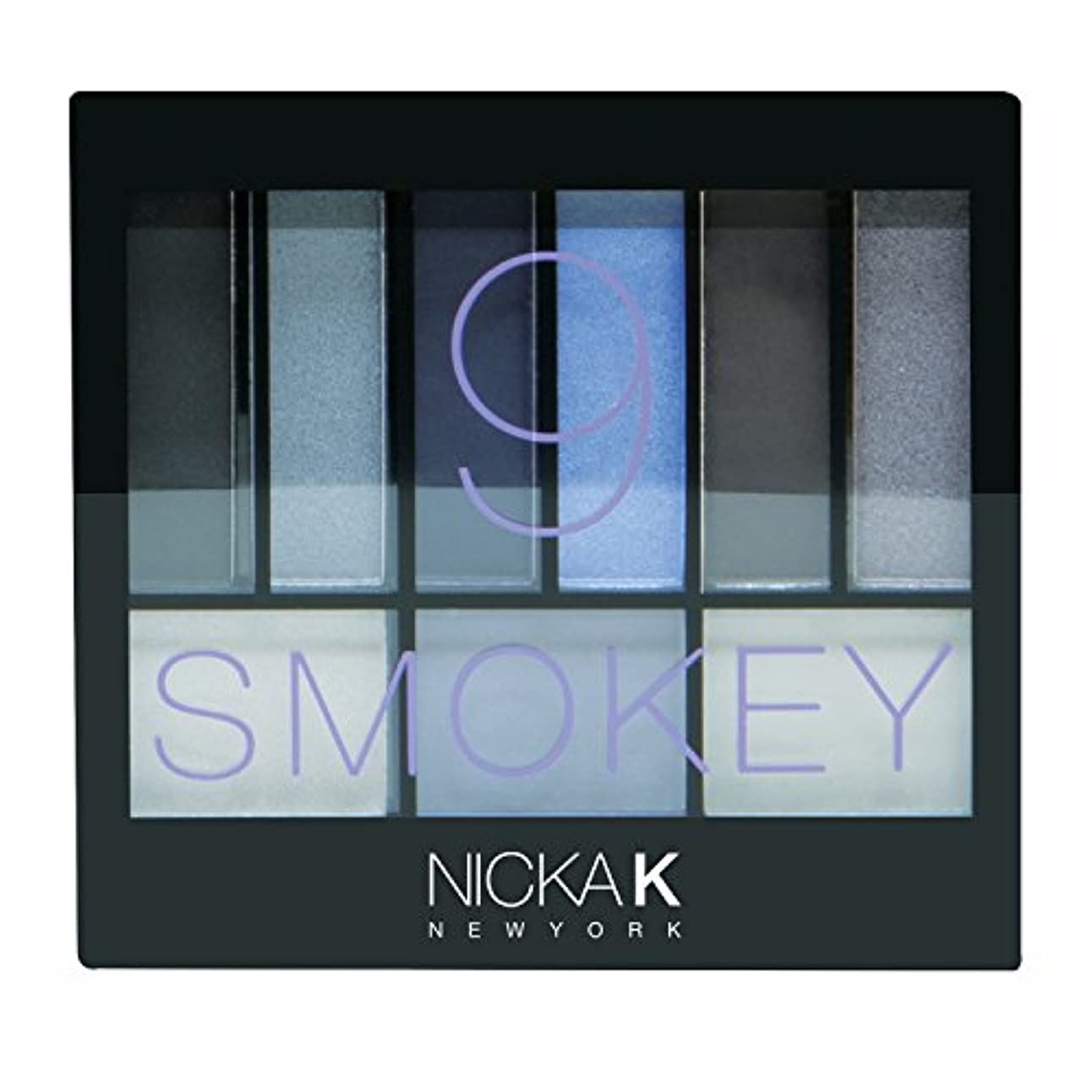 はっきりとブロック暴行NICKA K Perfect 9 Smokey Eyeshadow Palette Set (並行輸入品)