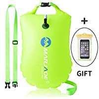 Gkci Swim Buoy安全Float Swim and Drybag Highly Visible Swim Bubble For Open Water Sea Swimmersトライアスロン選手