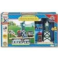 Thomas Wooden Talking Railway Series Cranky Set by Thomas & Friends [並行輸入品]