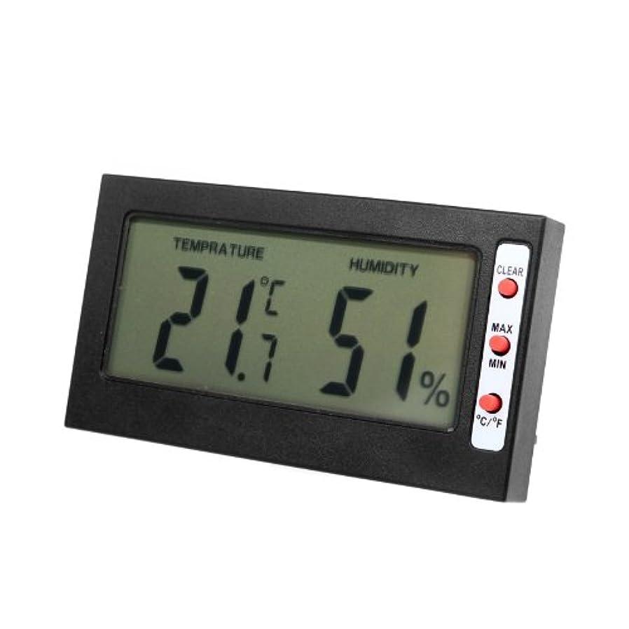 品揃え白いスーダンWunes - 電子デジタルLCD C / F温度計湿度計最大最小メモリ摂氏華氏サーモスタット温度テスター