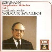 Schumann - Symphonies No.2 & 3 : Wolfgang Sawallisch [IMPORT]