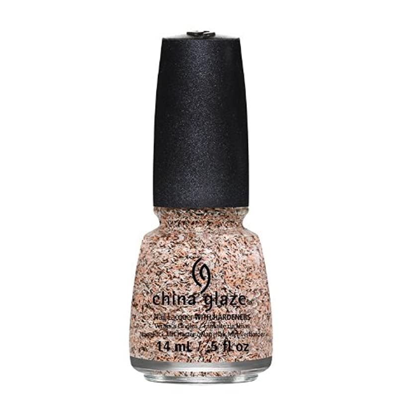 六ブラウンスリーブCHINA GLAZE On The Horizon - Feathered Finish - Light As A Feather (並行輸入品)