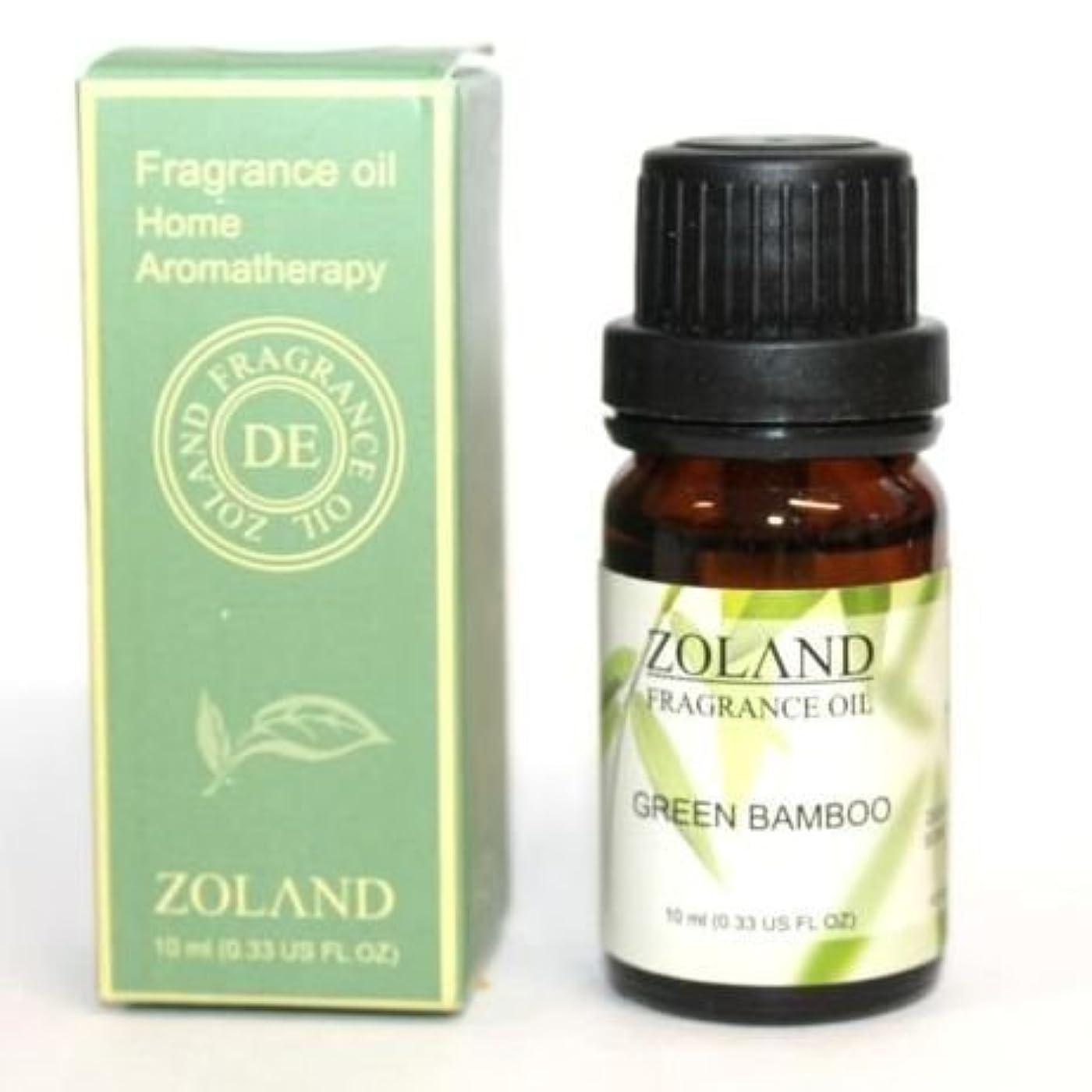 トレーニング言い聞かせるランダムZOLAND アロマオイル AROMA OIL フレグランスオイル GREEN BAMBOO 青竹の香り ZQ-4