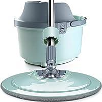 モップバケットセットの最強の最も重い義務モップ - ベストフロアモップ簡単にするために使用 - Professionalホーム床洗浄システムの場合