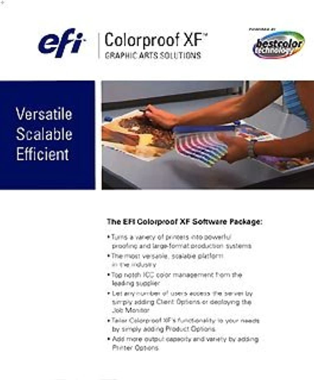 ひどく恐れのれんEFI Colorproof Server XF 3.1