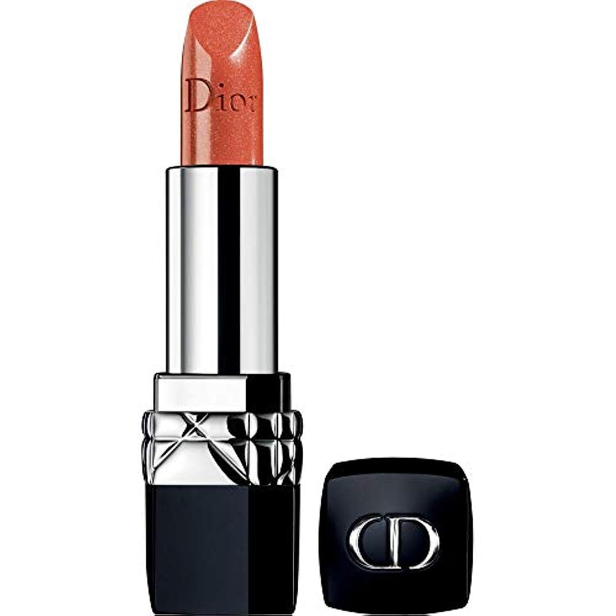 熟した染料アフリカ[Dior ] ディオールルージュディオールのオートクチュールの色の口紅3.5グラム636 - 火の上 - DIOR Rouge Dior Couture Colour Lipstick 3.5g 636 - On Fire...