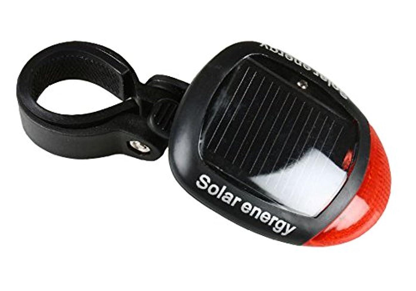 ツイン嬉しいですヒステリックソーラー サイクル リアライト LED フラッシュライト 自転車ライト テールライト 夜間走行 充電