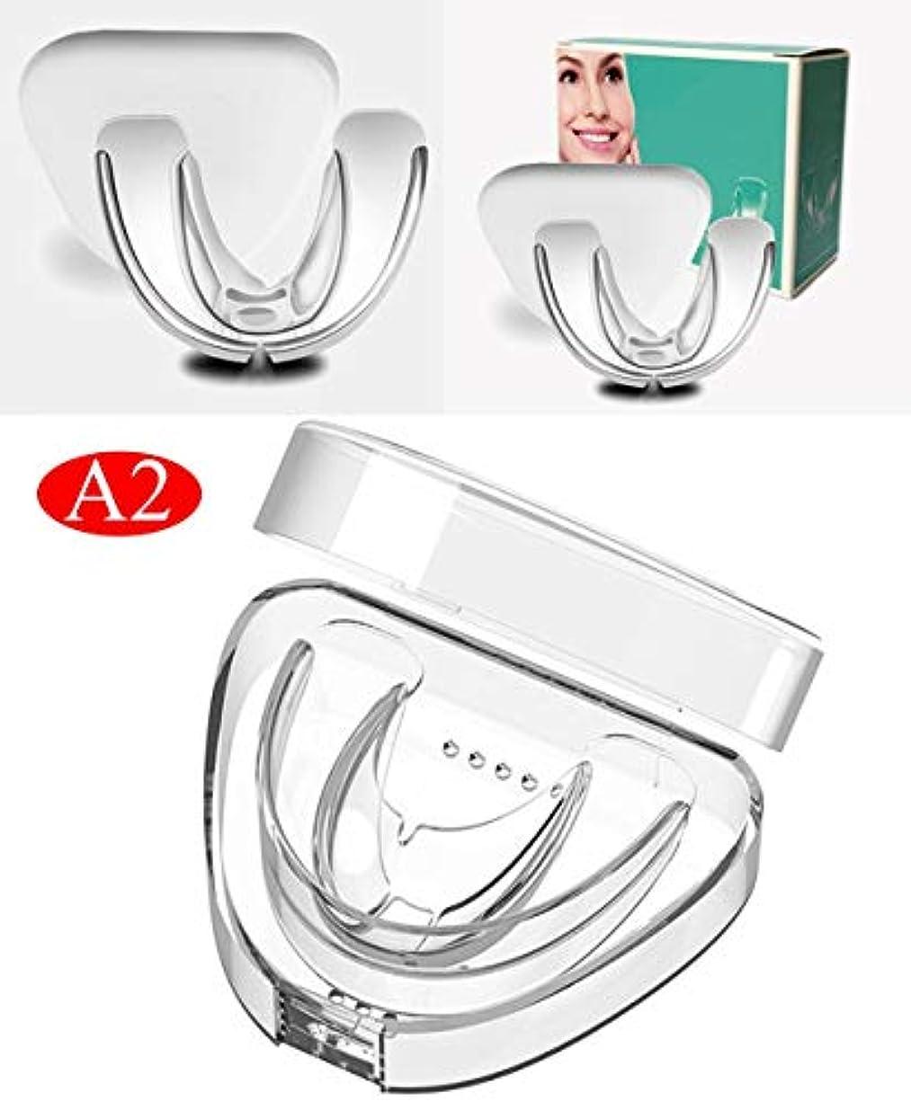 クランプピラミッドリングバック歯列矯正用リテーナー、透明歯列矯正用トレーナー歯用器具装具ブレースマウスピース大人用ツール(3段階はオプションです)