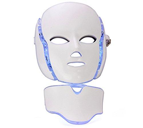 SiGang LEDマスク7色 光エステ美容器 家庭用LED美顔器 美白 痩せ顔...