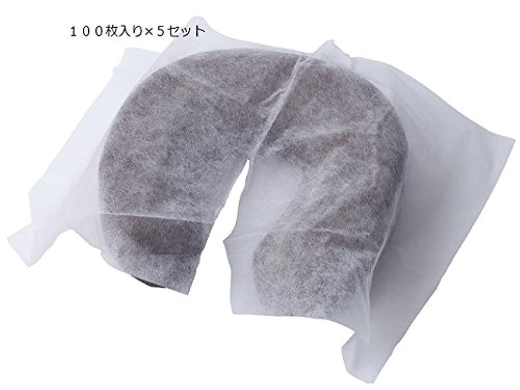 韓国語感謝祭娯楽業務用 使い捨て ピローシート SP 100枚入り×5セット 合計500枚
