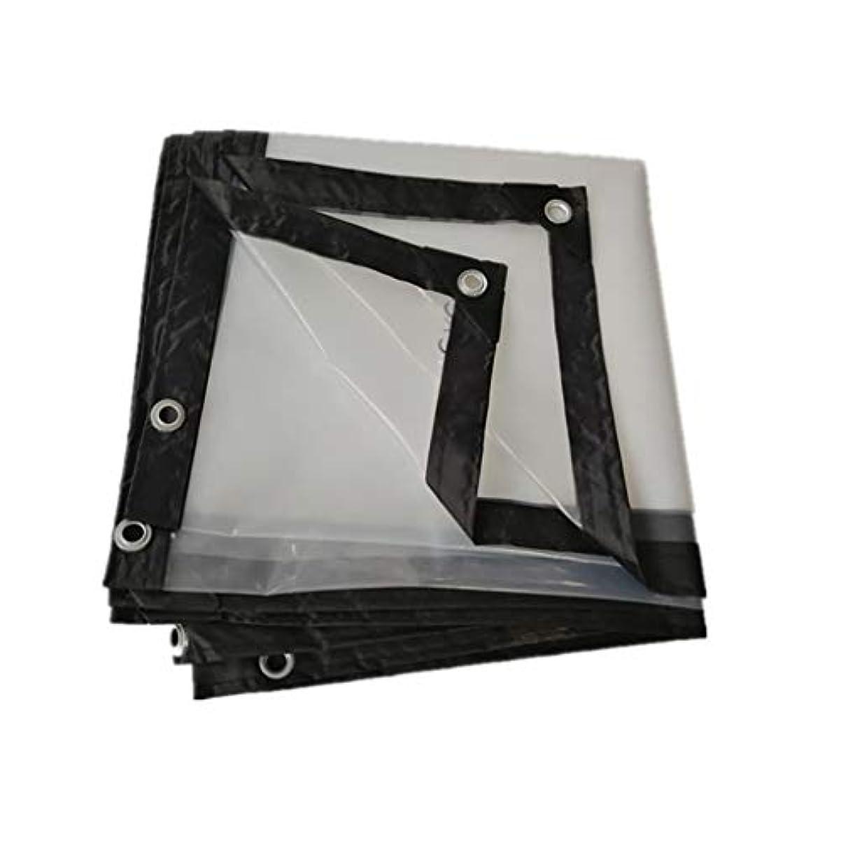ピーブグラディステラスキャノピープラスチック防水防風透明ターポリンポリエチレン保温パーゴラカバー温室、マルチサイズオプション (Size : 6*6m)