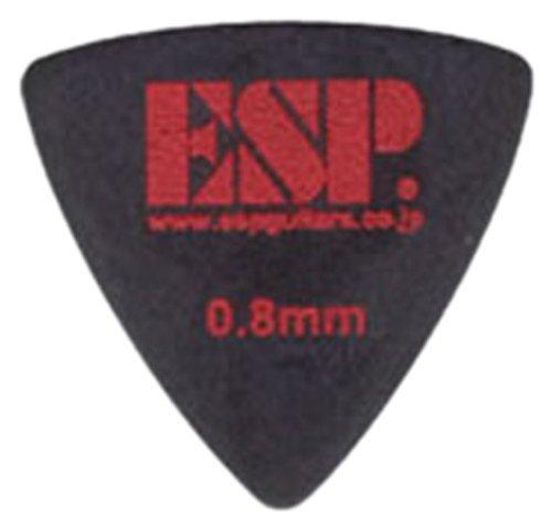 PD-PS10/BK/ESP/イーエスピー/トライアングル型/ポリアセタール/0.8mm/滑り止めロゴ/ブラック【10枚セット価格】