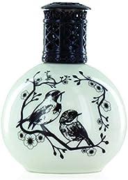 Ashleigh & Burwood PFL410 Two Little Birds Ceramic Fragrance Lamp, Small