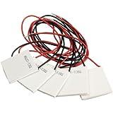 Vktech TEC1-12706半導体熱電クーラーペルチェタブレット DC12V 6A 五枚セット!