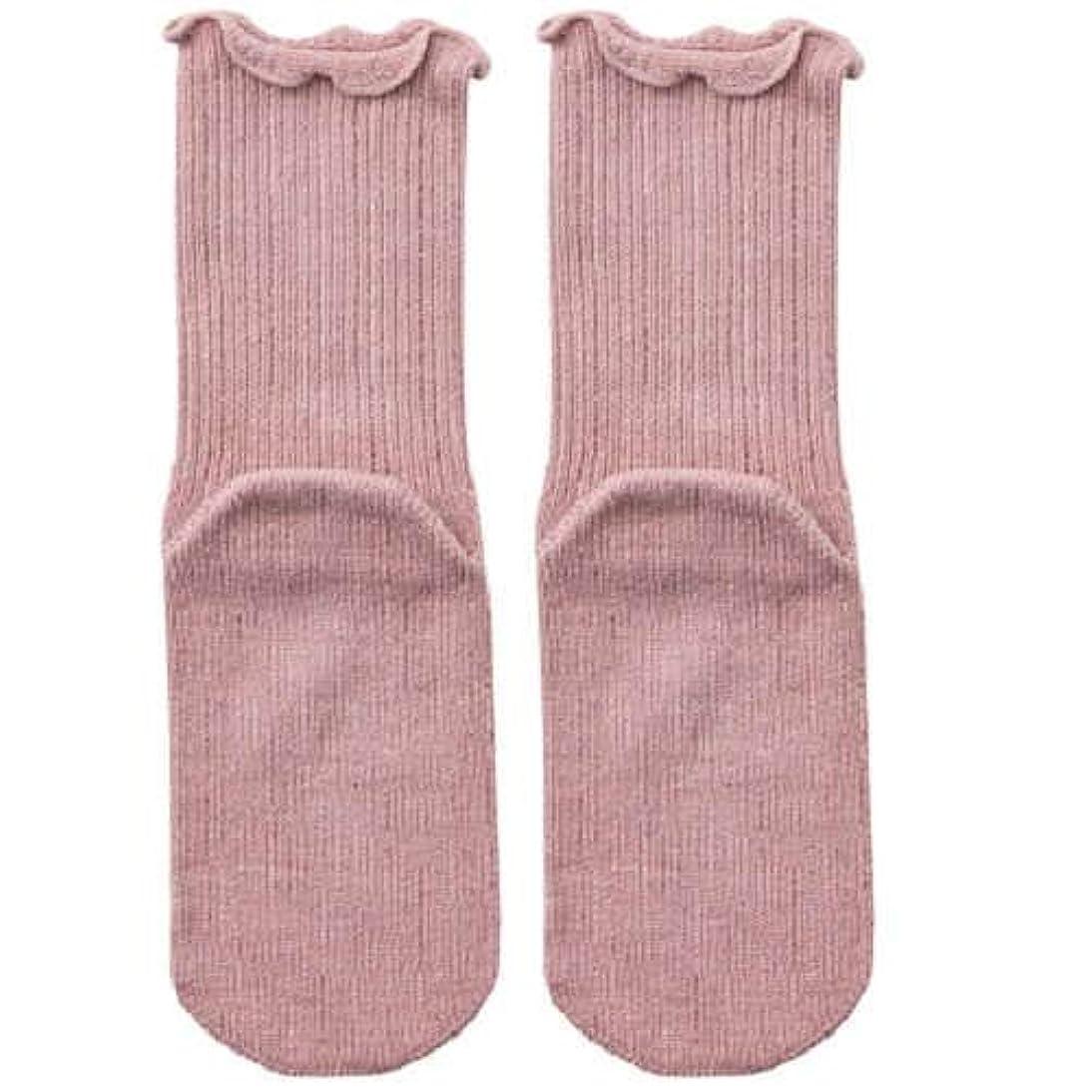 残酷即席ミトン【むくみ】【骨折】 男女兼用 極上しめつけません 特大サイズ 靴下 (ローズ)