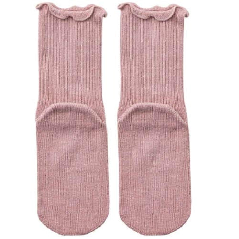 時間とともに傷跡市民権【むくみ】【骨折】 男女兼用 極上しめつけません 特大サイズ 靴下 (ローズ)