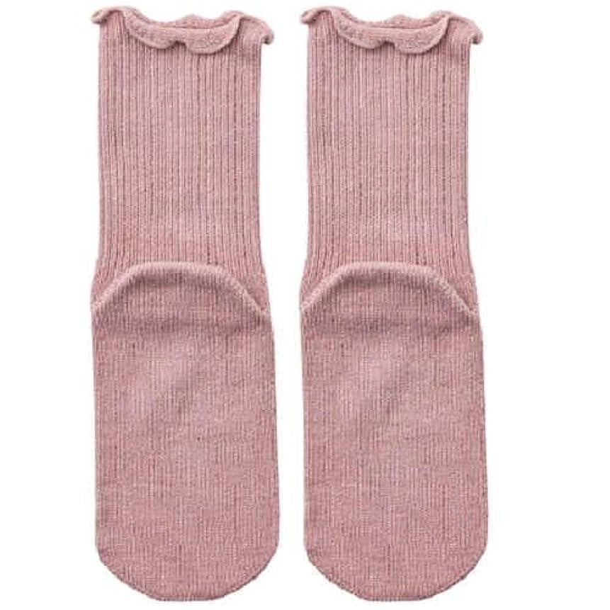 医療の給料周り【むくみ】【骨折】 男女兼用 極上しめつけません 特大サイズ 靴下 (ローズ)