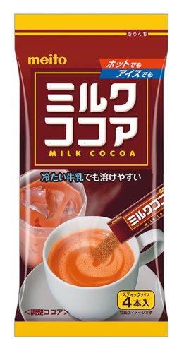 メイトー ミルクココア 4本入 48g×10