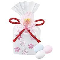 桜の小箱ドラジェ プチギフト 縁起物 和 和風 ラッピング 桜 お菓子 イベント 景品