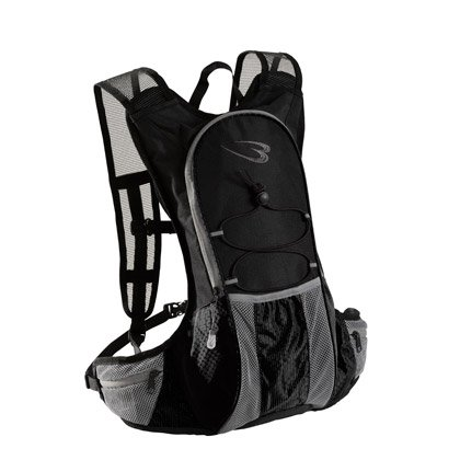 【BODYMAKER/ボディメーカー】 ランニングバッグ サイドポケット ブラック×ブラック BR011BKBK
