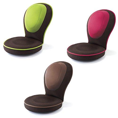 PROIDEA(プロイデア) 背筋がGUUUN美姿勢座椅子コンパクト【ピンク】