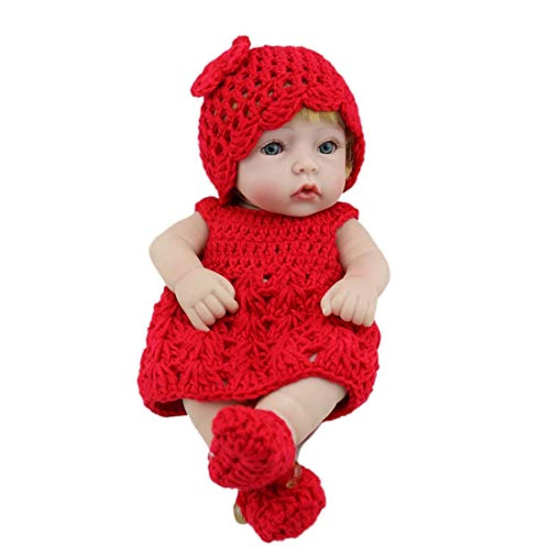 YUENA CARE ベビー 人形 赤ちゃん シリコン製 リアル まるで 本物 リボーンベビードール ドール 可愛い ギフト トレーニング 癒し ドールセラピー 女の子 男の子 おもちゃ