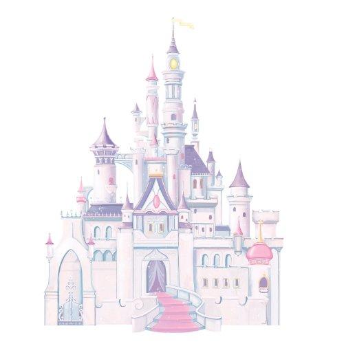 ルームメイト RMK1546GM ディズニープリンセス シンデレラ城 大きな壁用シール「並行輸入品」...