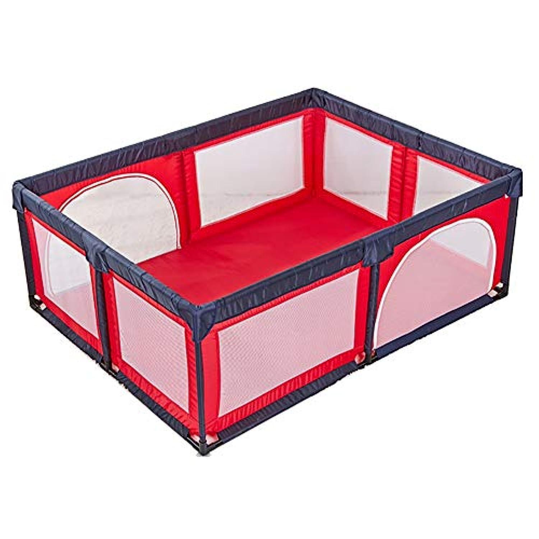 ベビーサークル, Playpens Safety Play YardベビープレイペンキッズアクティビティセンターIndoor Play Fenceベイビークロウリング幼児フェンス、190 X 150 X 70cm