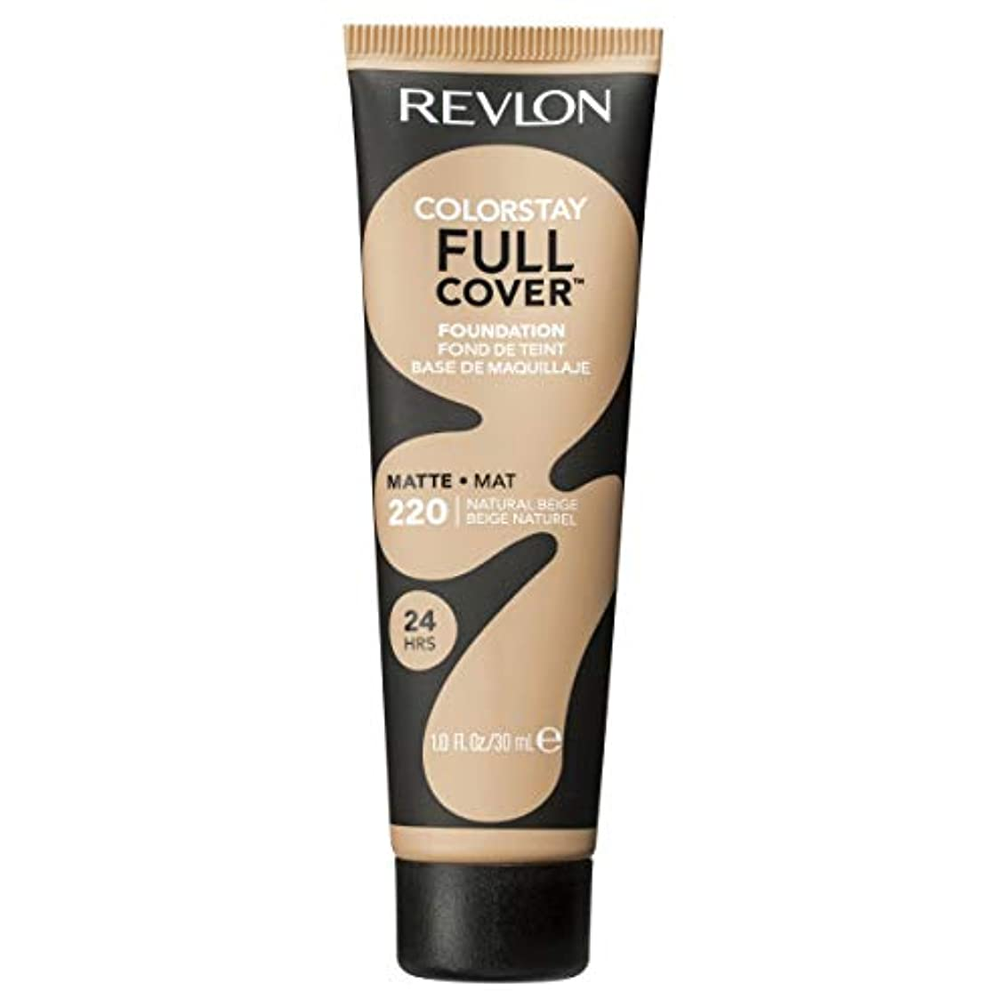 自分ドライブソファーRevlon Colorstay Full Cover Foundation Natural Beige