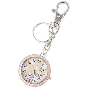 [フィールドワーク]Fieldwork 懐中時計 キーチェーン アニマル ピンク ST157-2 懐中時計