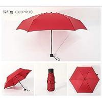 傘傘の女性UV折りたたみ小さな傘180グラム雨女性防水男性日傘便利な女の子旅行