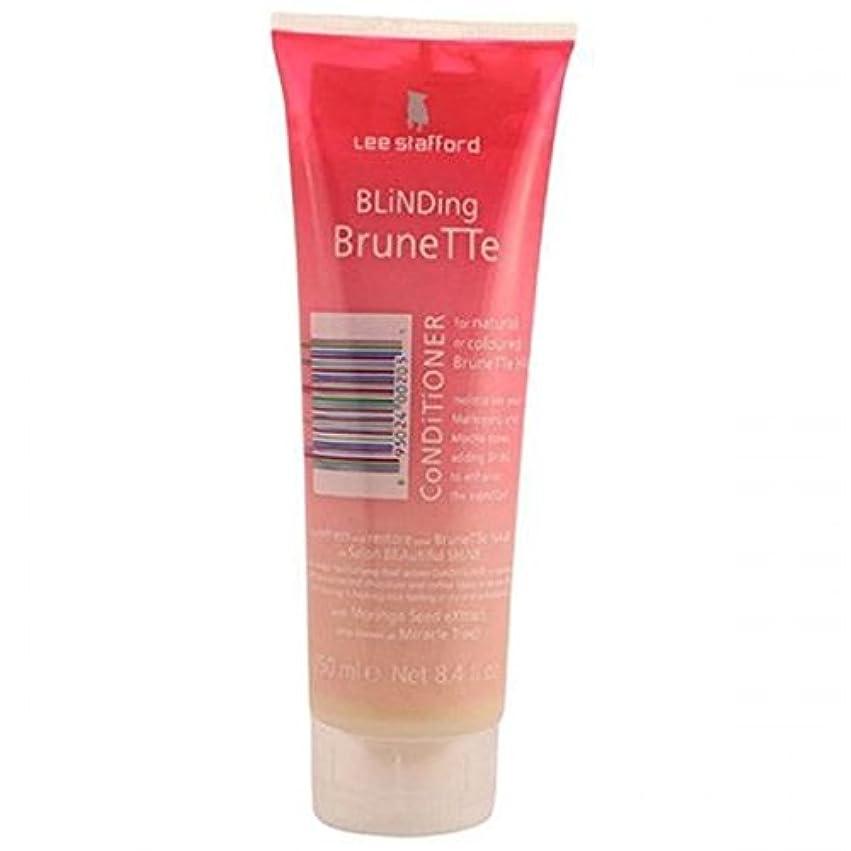 発見理由株式Lee Stafford Blinding Brunette Conditioner For Natural & Coloured Hair 250ml