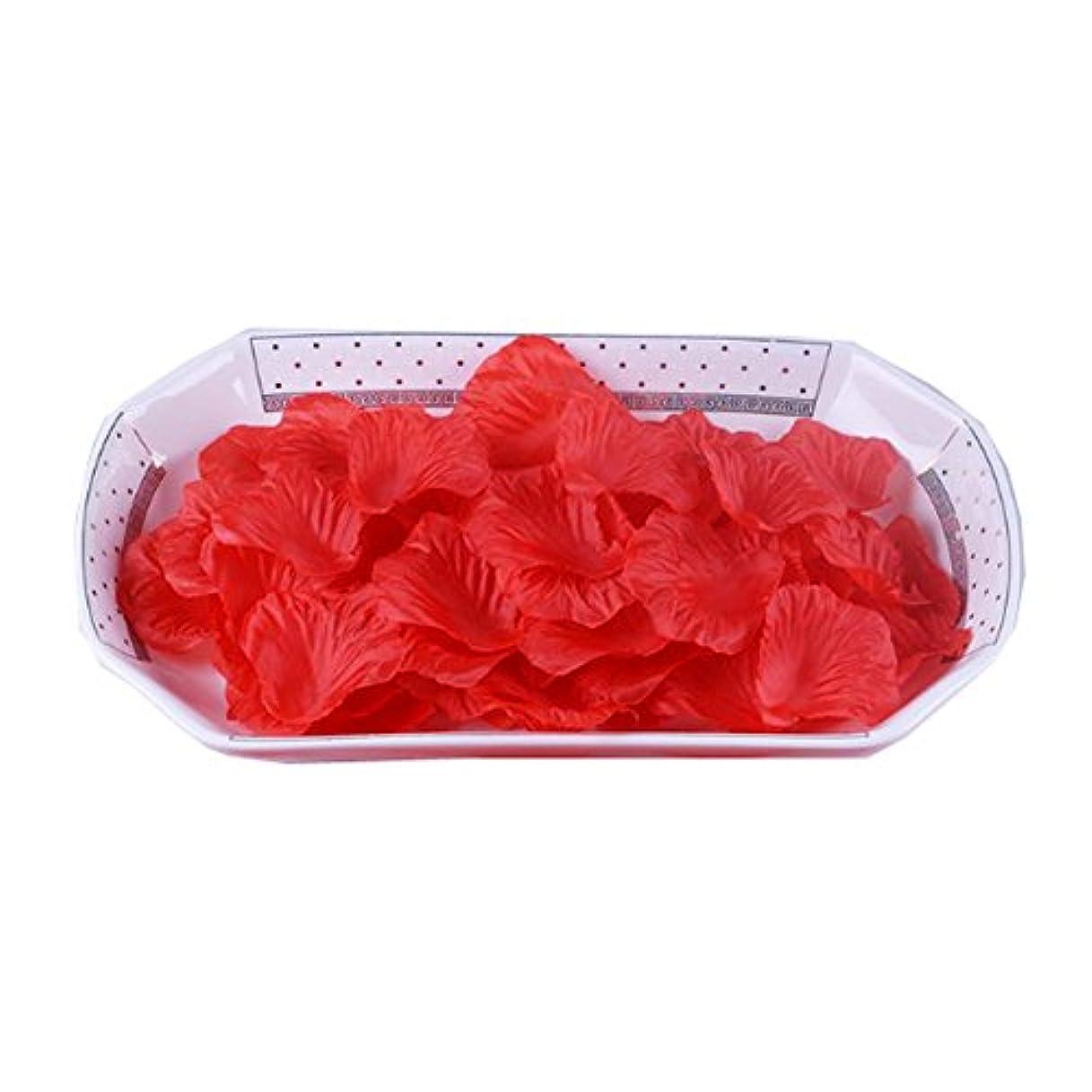 ストリップ夕方燃やす結婚式の装飾のための人工のバラの花びらの偽の花びら3000 PC