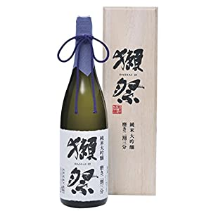 獺祭(だっさい) 純米大吟醸 磨き二割三分 木箱入り 1800ml