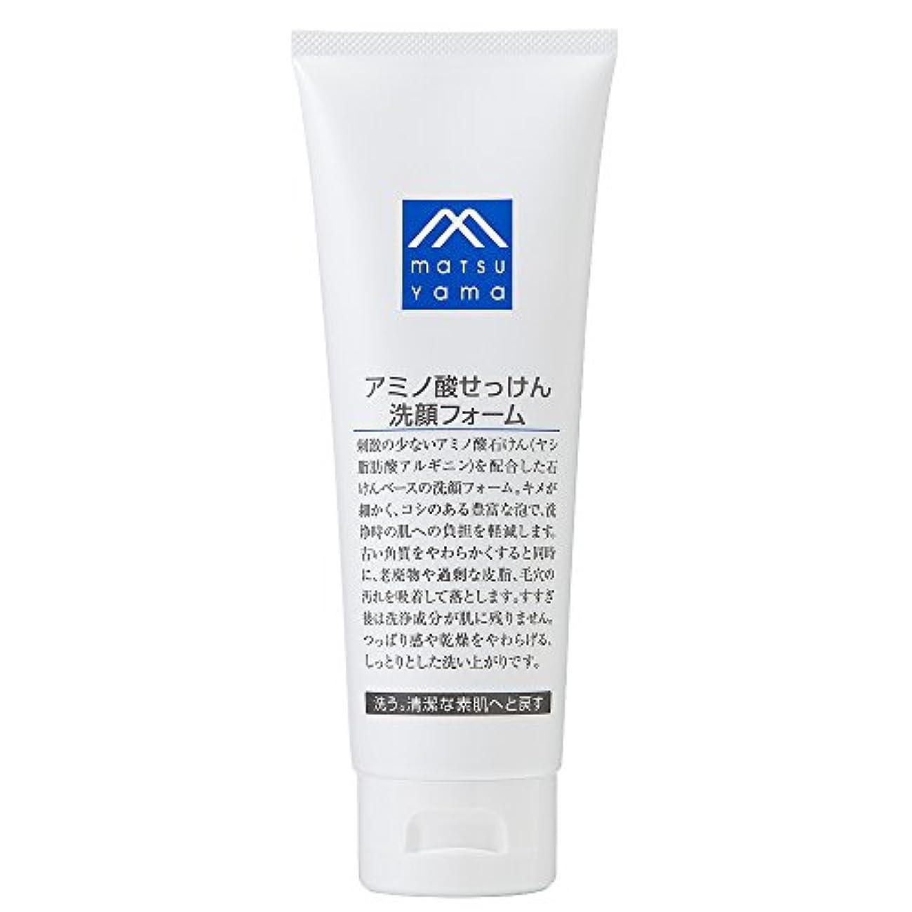 絶滅したイブナラーバーM-mark アミノ酸せっけん洗顔フォーム