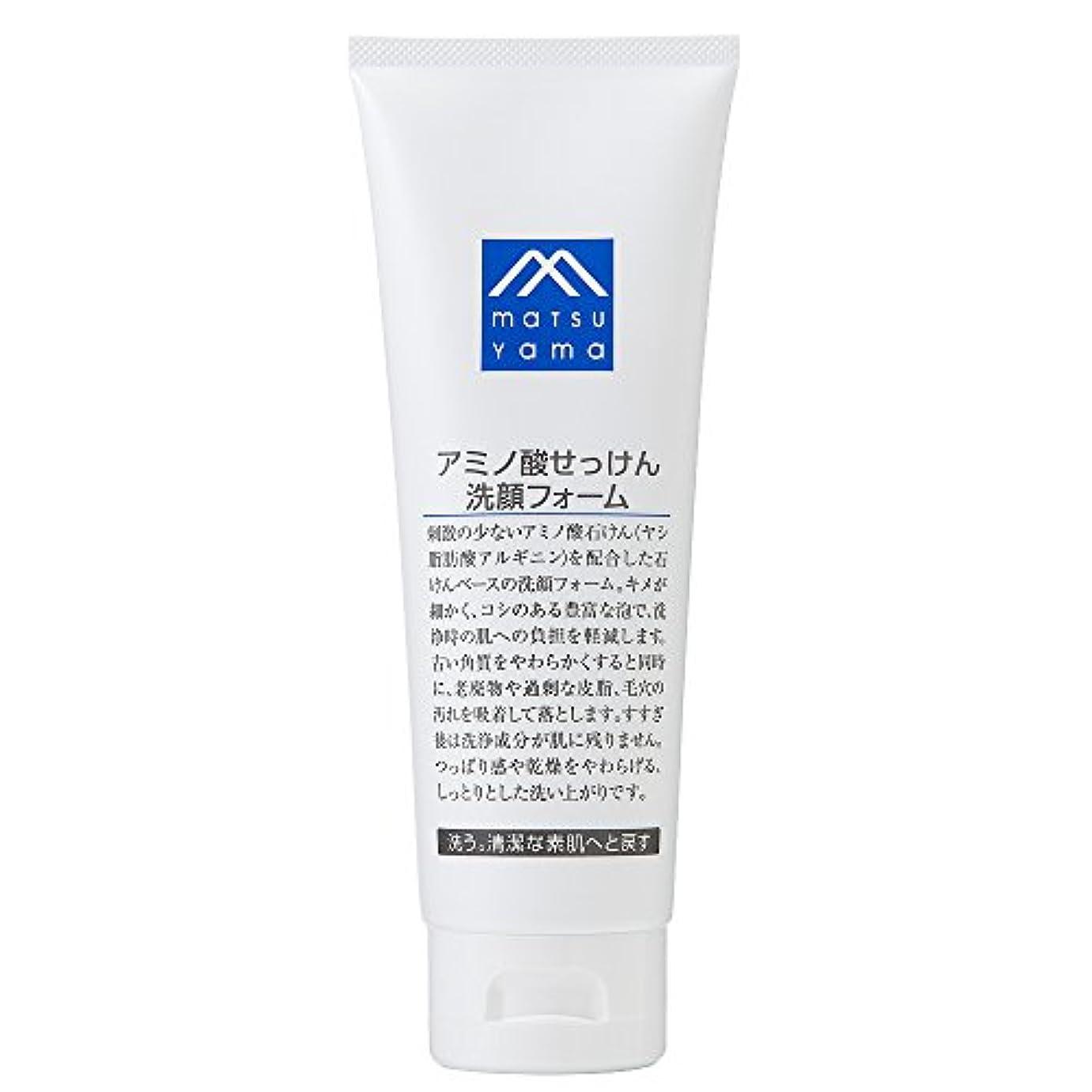ぐるぐる助言する列挙するM-mark アミノ酸せっけん洗顔フォーム