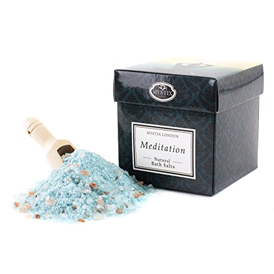 真剣に比喩人質Mystix London | Meditation Bath Salt - 350g