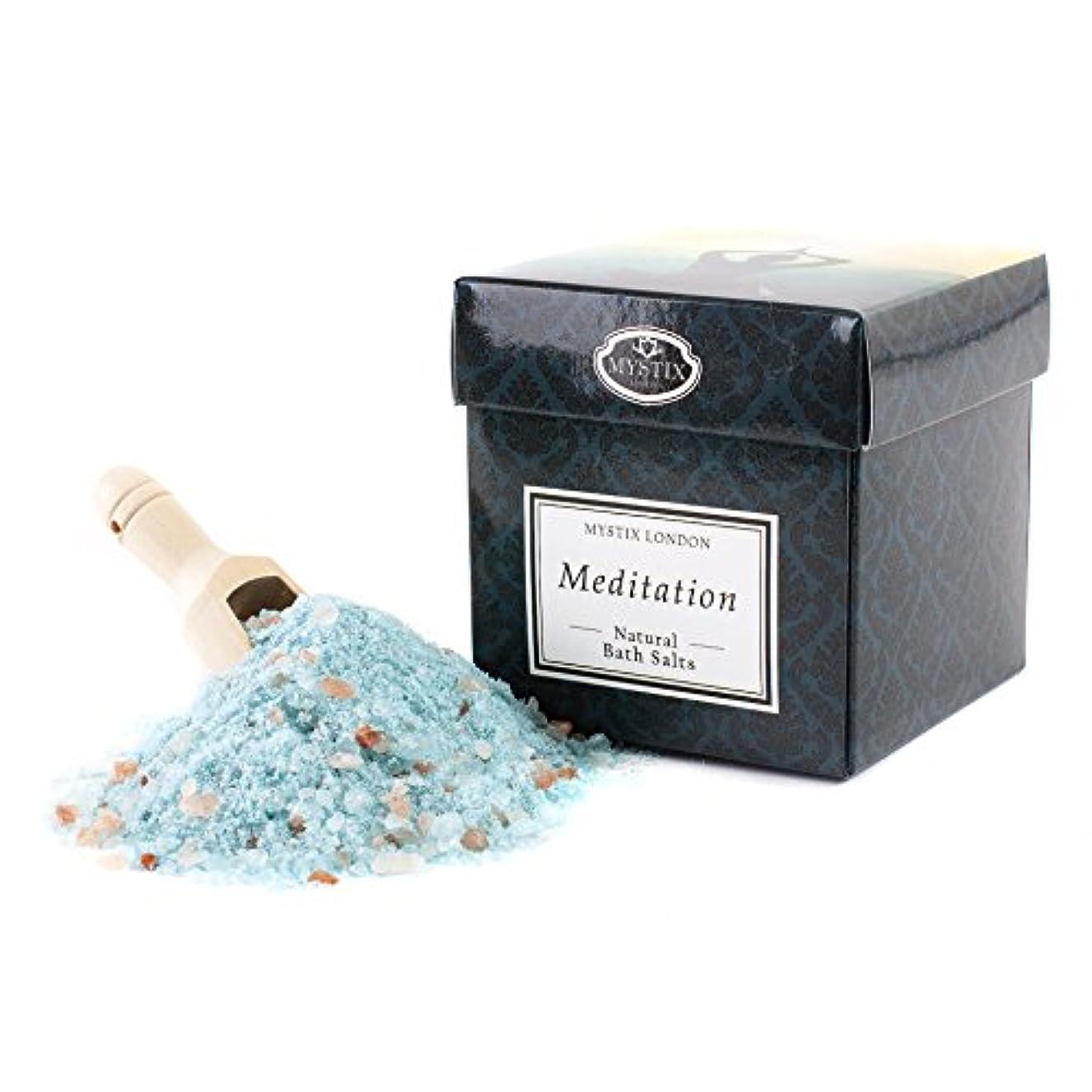 大理石なめる軽量Mystix London | Meditation Bath Salt - 350g