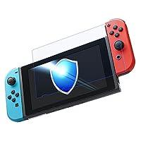 ニンテンドー スイッチ ガラス フィルム ブルーライト カット 極薄 液晶保護 Nintendo Switch 専用 PROTAGE