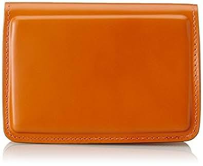 [エルイーディーバイツ] 名刺入れ コードバン SHELL B-9088 オレンジ