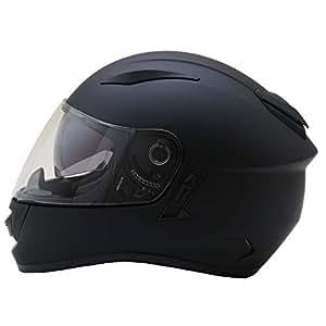 ネオライダース (NEO-RIDERS) ZX9 インナーシールド付 フルフェイス ヘルメット マットブラック Lサイズ 59-60cm SG/PSC ZX9