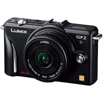 パナソニック デジタル一眼カメラ GF2 レンズキット(14mm/F2.5パンケーキレンズ付属) フルハイビジョンムービー一眼 エスプリブラック DMC-GF2 C-K