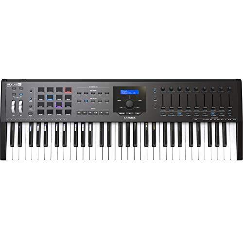 Arturia キーボード・コントローラー KeyLab mkII 61鍵盤 ブラック