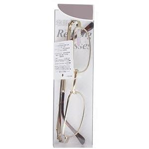 ワームス 老眼鏡 W-946 ゴールド +3.50