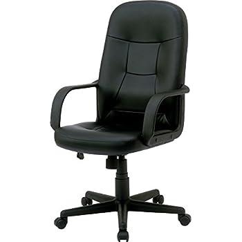 ナカバヤシ ファブリックオフィスチェア デスクチェア 椅子 ハイバック ブラック CCL-002D